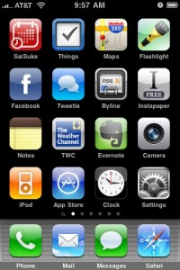 home iphone app
