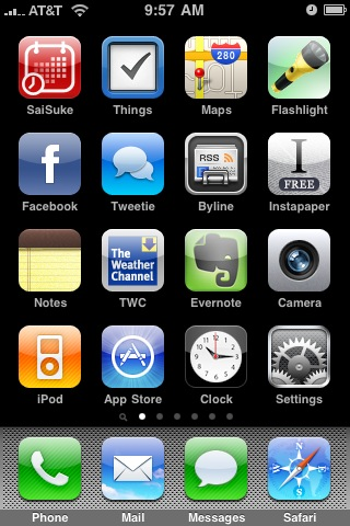My Iphone Home Screen Apps Ben Stewart