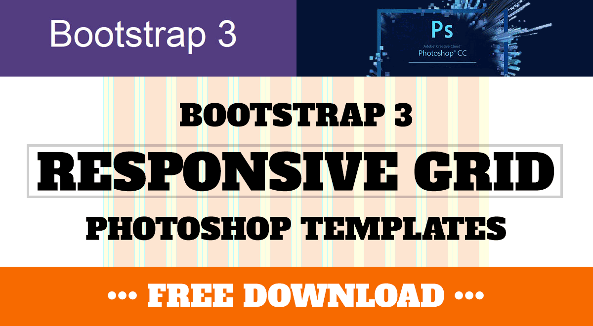 bootstrap 3 responsive grid photoshop templates psd
